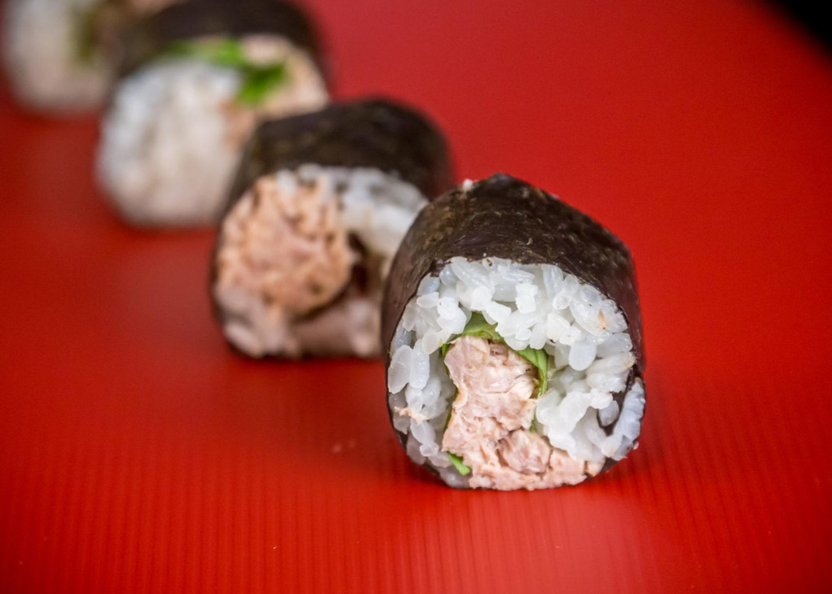 Tuna Salad Sushi