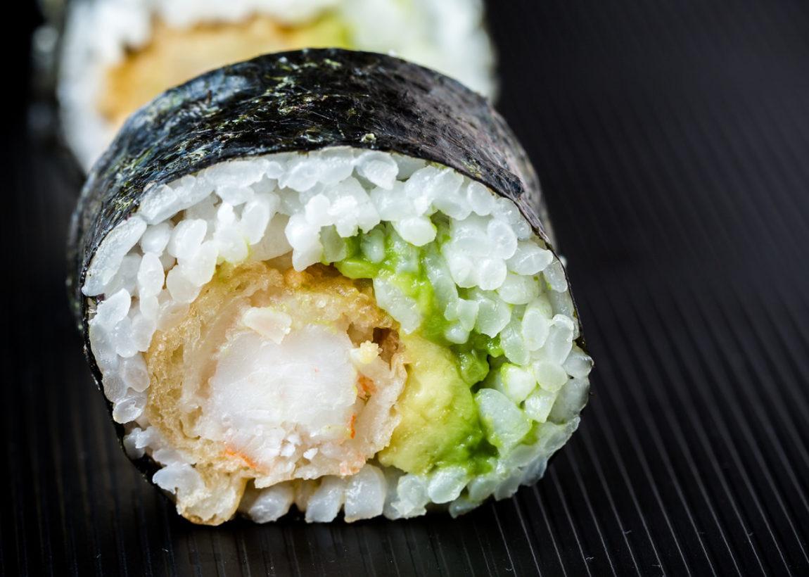 spicy tempura roll