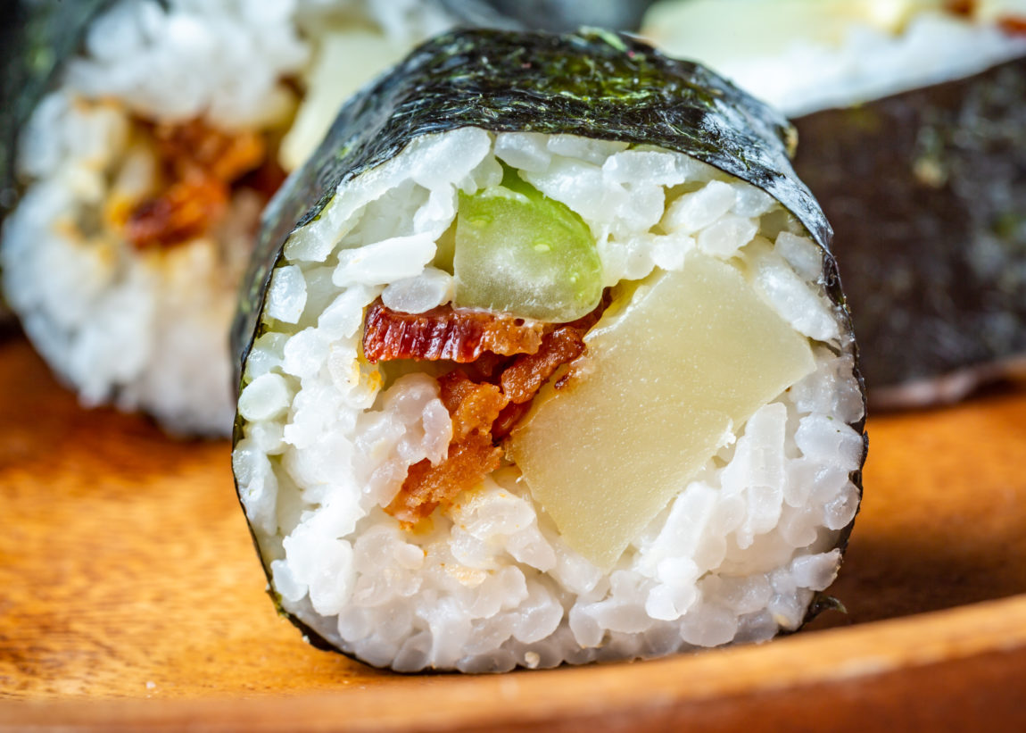 potato salad sushi