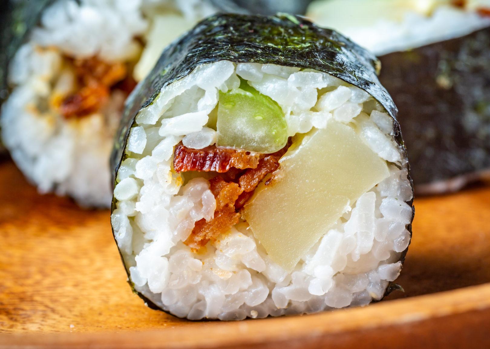 potato salad sushi