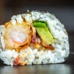 bacon crunchy shrimp roll