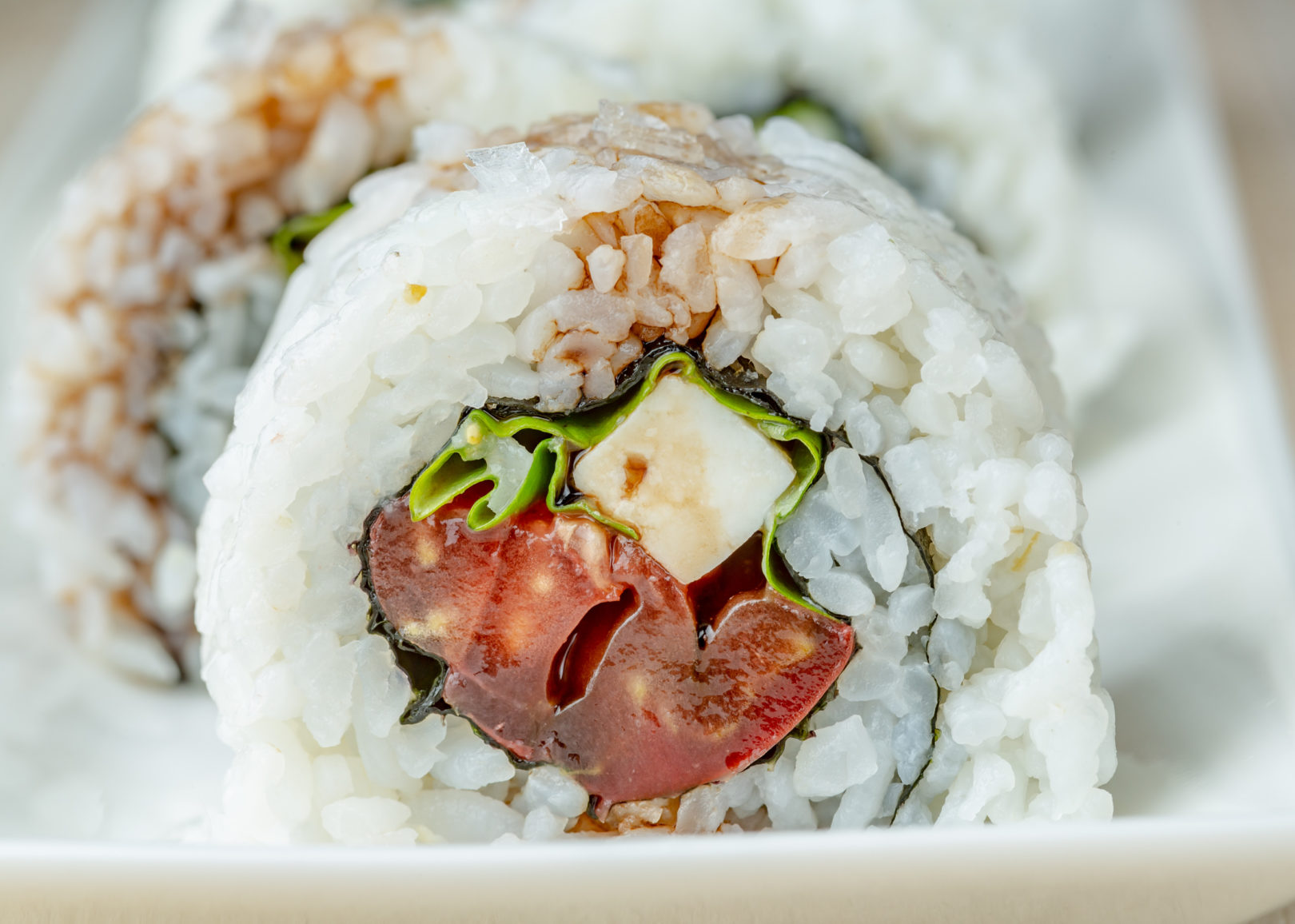 caprese salad sushi
