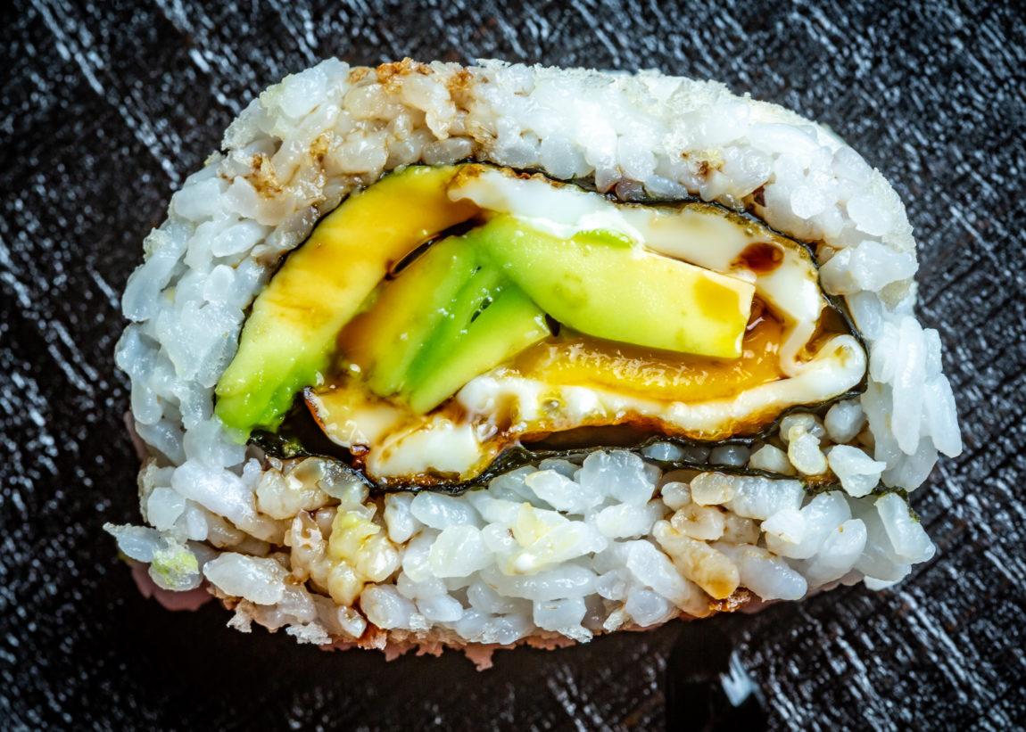 avocado toast sushi